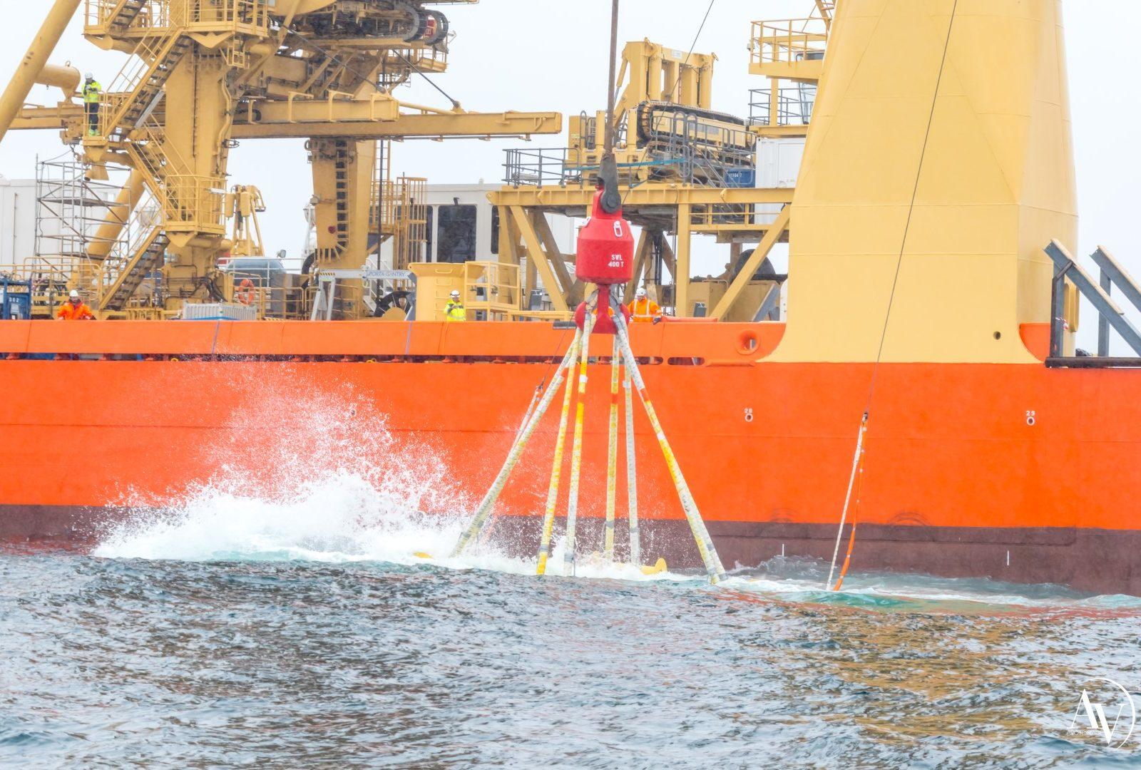 CMN HydroQuest mise à l'eau OceanQuest